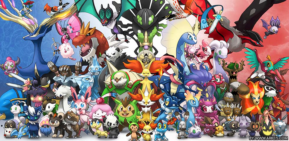 Meet All The New Pokemon
